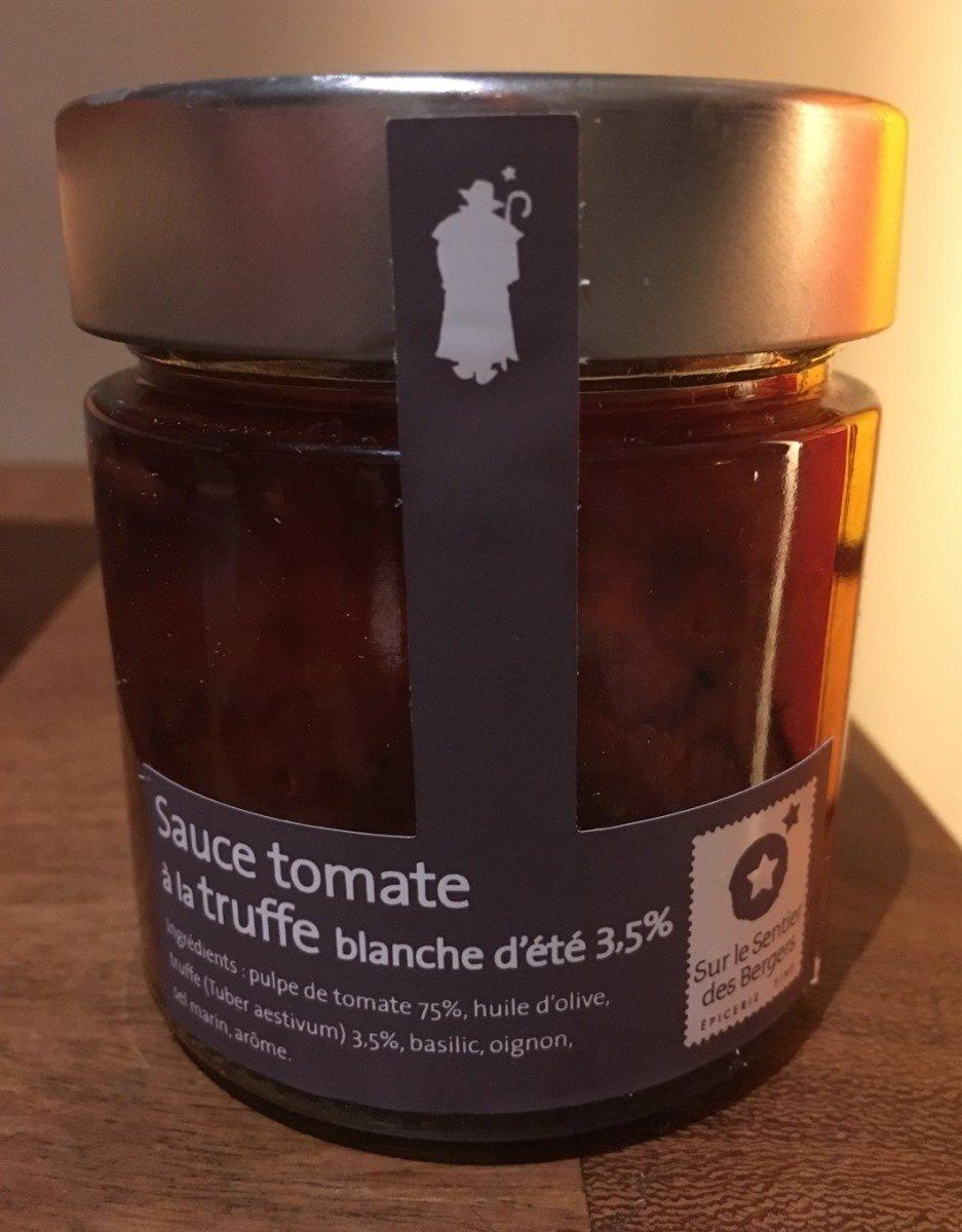 Sauce tomate à la truffe blanche d'été - Product - fr