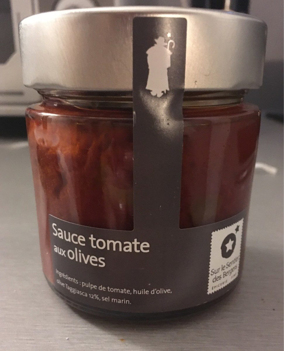 Sauce tomate aux olives - Product - fr
