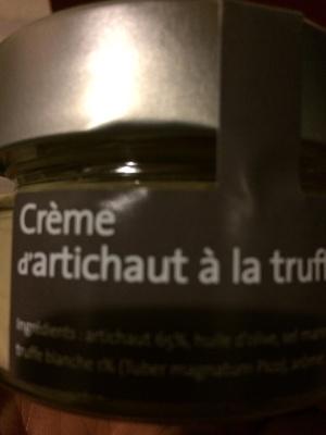Crème d'artichauts a la truffe blanche - Product - fr