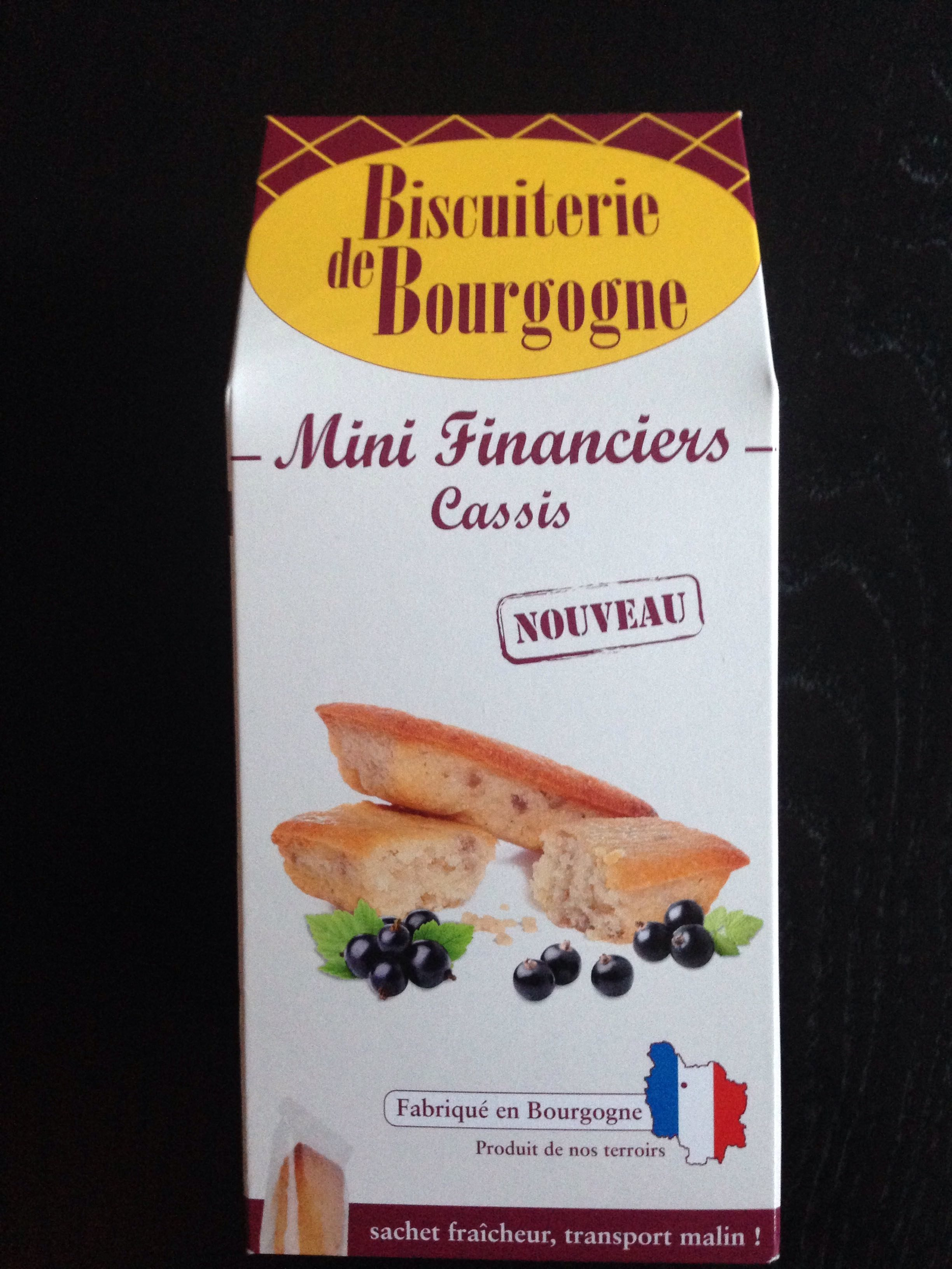 Mini financiers casis - Produit - fr
