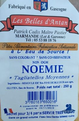 Tagliatelle - Produit - fr