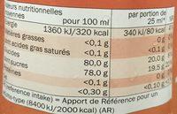 Cuvé Bio Huile d'Olive de France Vierge Extra Extraite à froid - Nutrition facts - fr
