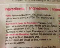 Naan au fromage - Ingredienti - fr