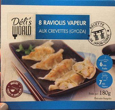 8 Raviolis Vapeur aux Crevettes - Product