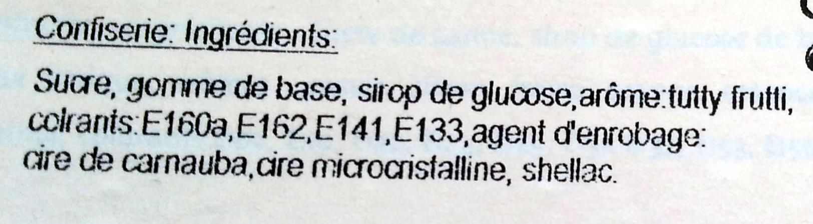 Boule de gum - Ingredients - fr