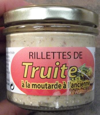 Rillettes de truite à la moutarde à l'ancienne - Produit - fr