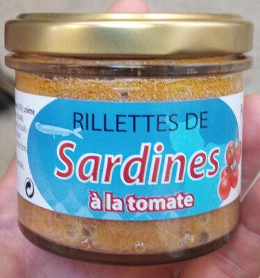 Rillettes de sardines à la tomate - Produit - fr