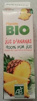 Jus d'ananas 100% pur jus - Produit - fr