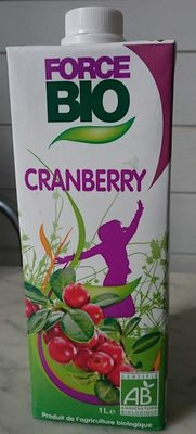 Boisson à la Cranberry - Product