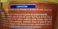 Blle 1L Soda Orange Bio Fresh - Ingredients