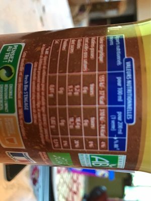 Blle 1L Soda Orange Bio Fresh - Nutrition facts