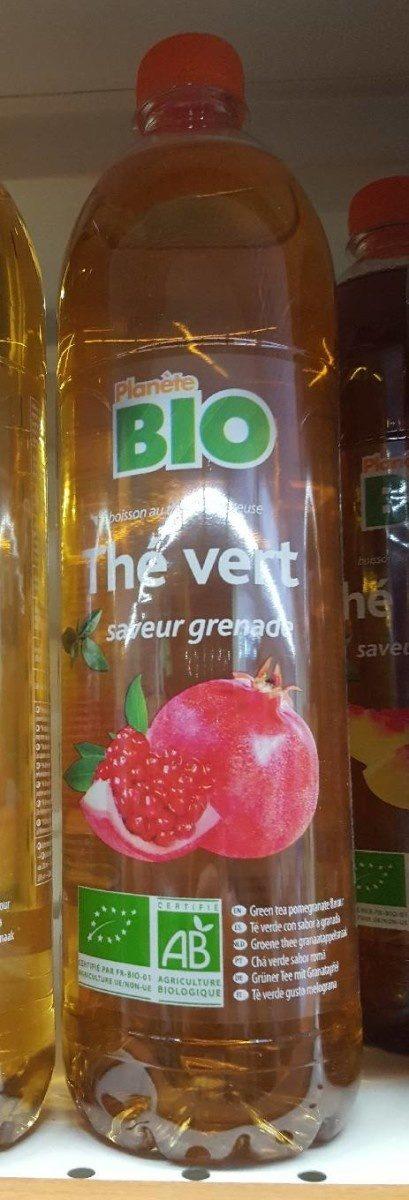 Thé vert saveur grenade - Product - fr