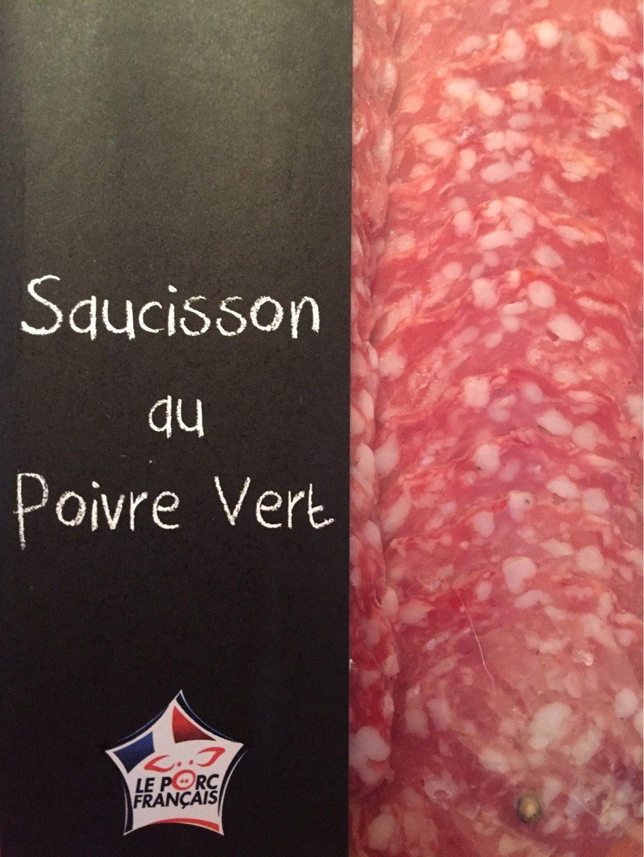 Saucisson au poivre vert - Produit