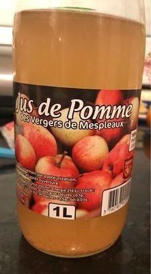 Jus de pommes des vergers de Mespleaux - Prodotto - fr