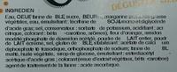 Galette Comtoise - Ingrediënten