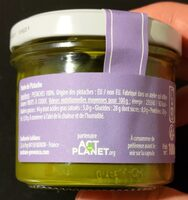 Purée de pistache - Nutrition facts - nl