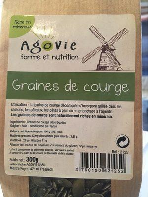 Graines De Courge Décortiquées 300 g - Produit - fr