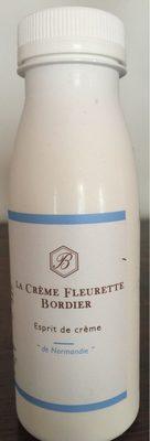 La crème fraîche fleurette - Produit - fr