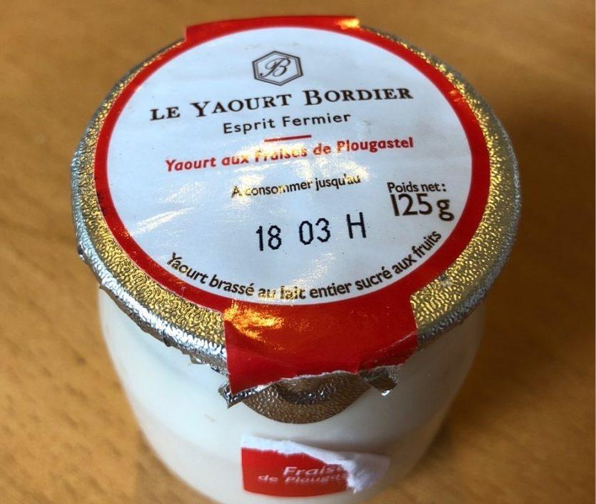 Yaourt Fraise Plougastel - Produit