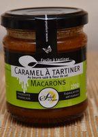 Caramel à Tartiner au Beurre Salé et Fleur de Sel Macarons - Product