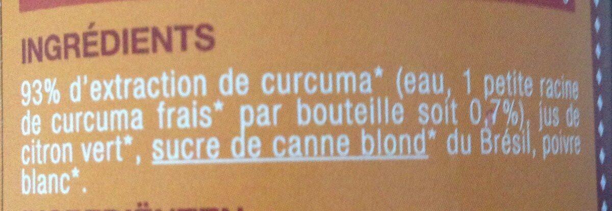 Karma botanik mangue et curcuma - Ingrediënten - fr