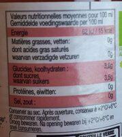 Karma Aloe vera bio & équitable grenade - Nutrition facts - fr