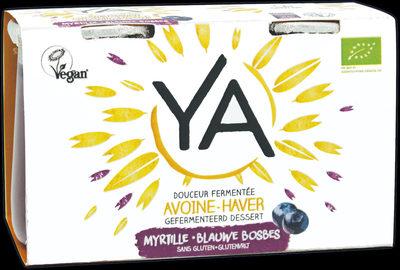 YA avoine-haver myrtille - Produit - fr