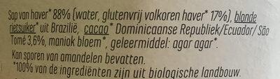 Ya avoine chocolat - Ingrediënten - nl