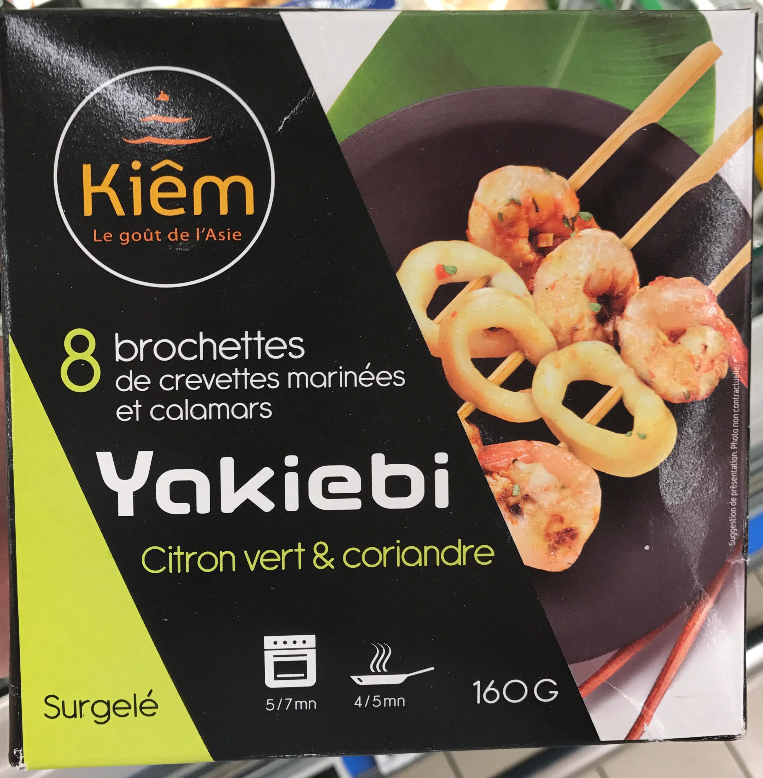 Yakiebi Citron Vert & Coriandre - Product