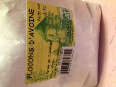 Flocons d'avoine - Ingrédients
