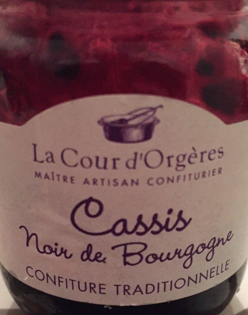 Confiture cassis noir de bourgogne - Produit