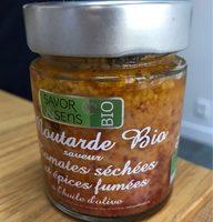 Moutarde bio saveur tomates séchées et épices fumées - Produit