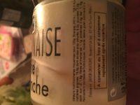 Mayonnaise Arôme Truffe Blanche - Ingrédients - fr