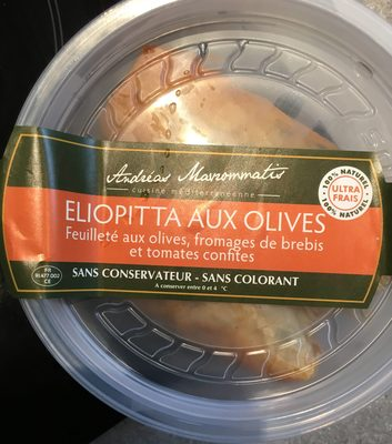 Eliopitta aux Olives - Product