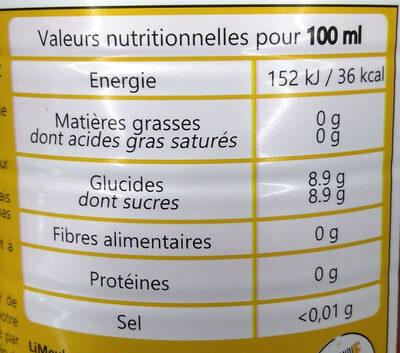 Meuh Cola - Informations nutritionnelles - fr