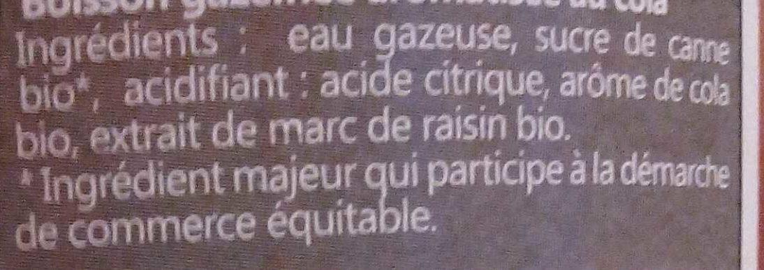 Roseline - Ingrédients - fr