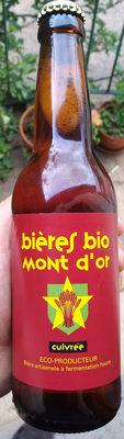 Biere mont d'or - Produit