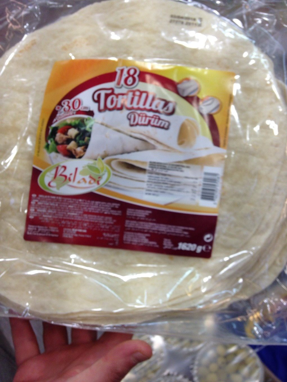 Tortillas - Produit