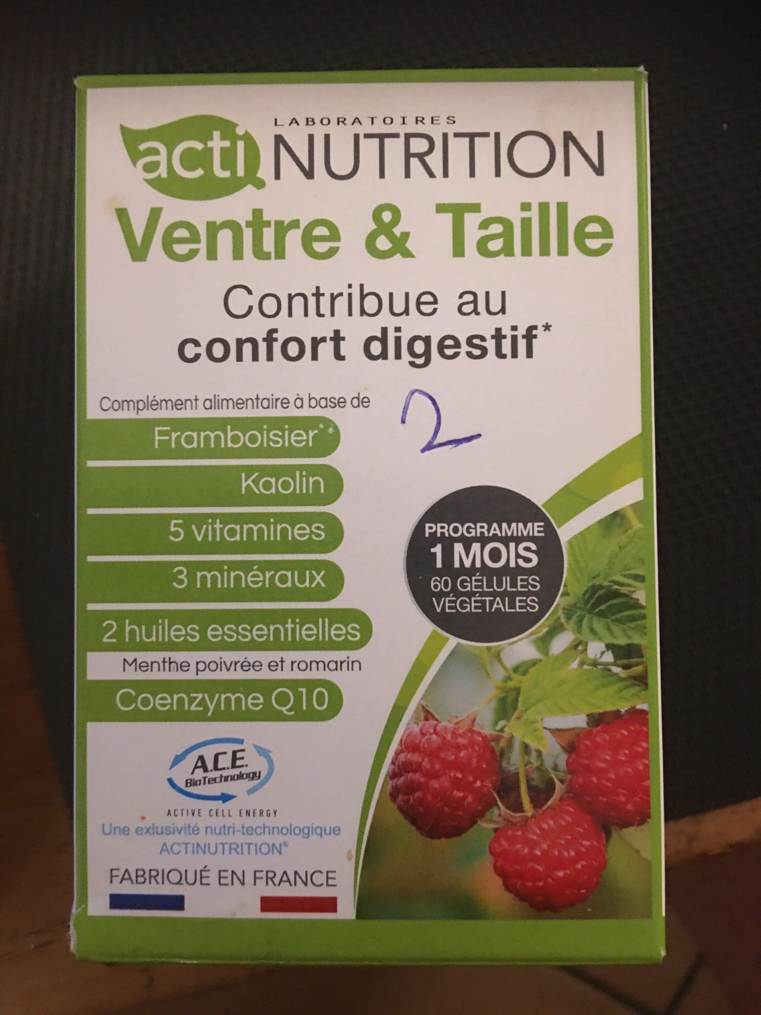 Actinutrition ventre et taille - Produit - fr
