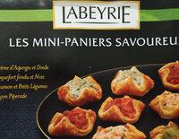 20 Mini Paniers Savoureux - Produit - fr