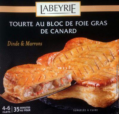Tourte au Bloc de Foie Gras de Canard (Dinde et Marrons) - Produkt - fr