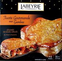 Tourte Gourmande aux Gambas - surgelée - Produit - fr