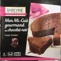 Mon Mi-Cuit gourmand au chocolat noir coeur coulant - Produit