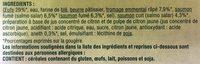 Les Gougères aux Deux Saumons - Ingrédients