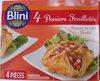 4 Paniers Feuilletés Légumes du Soleil Poulet - Product