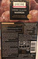 Crème glacée marron - Product - fr