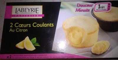 2 Cœurs Coulants au Citron - Product - fr