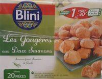 Gougères aux deux saumons - Produit - fr