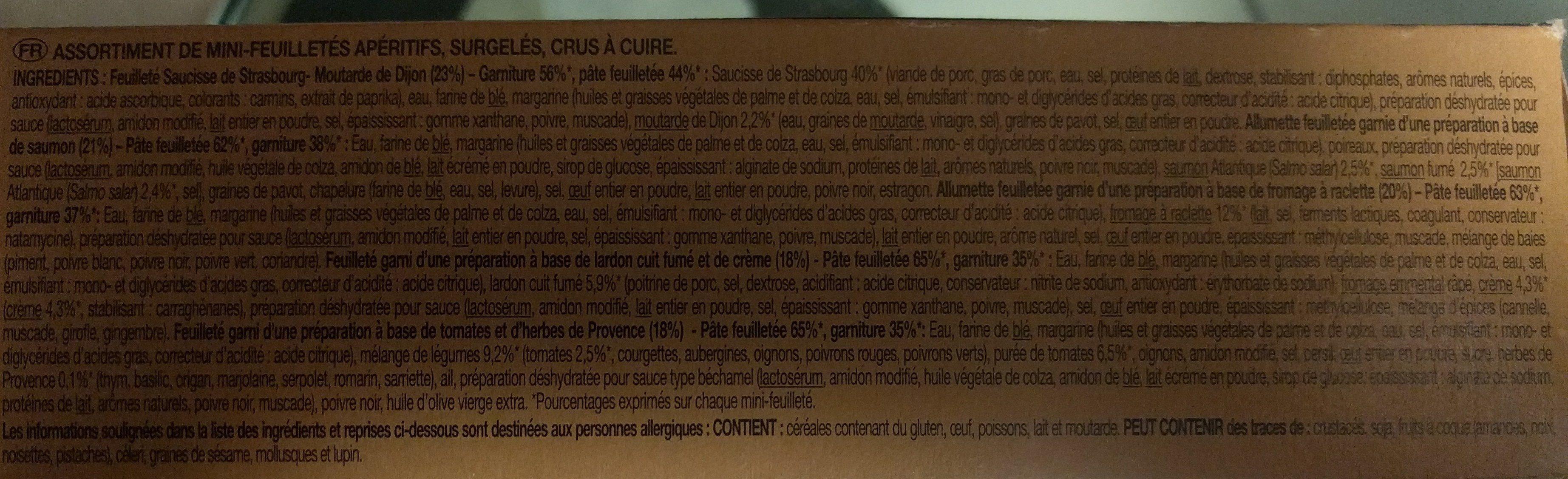 Route Des Regions - Ingrédients - fr