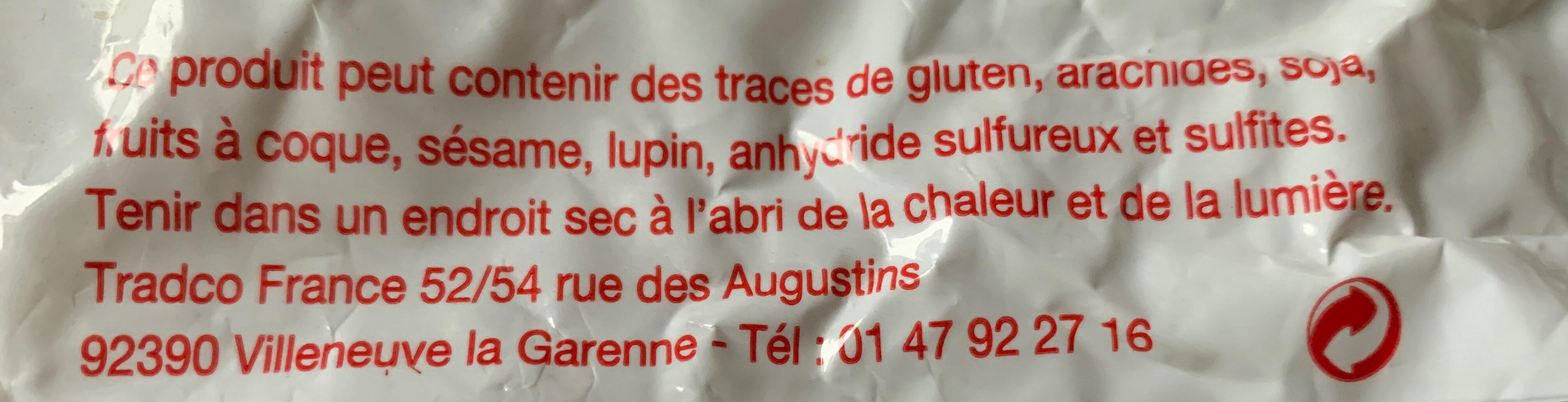 Amandes blanchies effilées - Ingredients